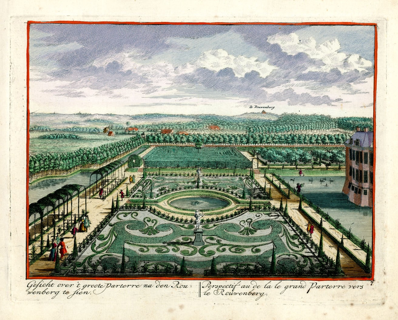 Lezing 400 jaar tuingeschiedenis in de tuinen van Middachten